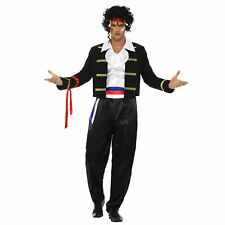 Adult Mens 1980s New Romantic Pop Rock Star Ant Music Fancy Dress Icon Costume
