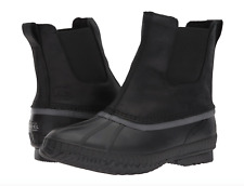Sorel Mens Cheyanne II Chelsea Boot 9.5-10.5-11 Black Waterproof Leather Snow