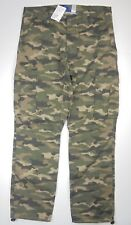 Mens Divided by H&M camo printed utility cargo camouflage pants 30 32 34 36 NEW!