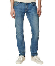 GANT RUGGER Blue Stickboy Medium Well Done Denim Jeans Pants Blue 30 x 32 $225