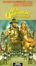 Allan Quatermain & the Lost City of Gold 1987 VHS Sharon Stone James Earl Jones