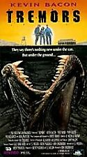 Tremors (1996) VHS horror Kevin Bacon Fred Ward Michael Gross man-eating worms