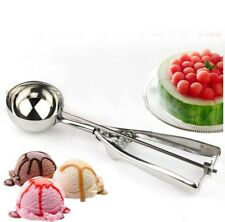 Potato Ice Ball For Kitchen Stainless Mash Cream Steel Scoop Spoon Food 4/5/6cm