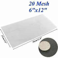 1pc Stainless Steel Metal Woven Wire Screening Filter Sheet 5/8/20/30/40 Mesh