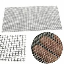 1pc 6x12'' Woven Wire Mesh Sheet Stainless Steel Cloth Screen Filter 5/8/20/30/4