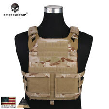 EMERSON JPC Plate Carrier Molle Vest Paintball Military CORDURA Army Camo 7436