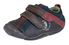 Hush Puppies Tad Infant / Baby Boys First Walker Leather Shoes - Brown
