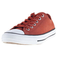 Converse Chuck Taylor All Star Ox Mens Burnt Henna Leather Trainers