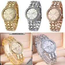 Fashion Womens Crystal Rhinestone Watches Ladies Evening Party Dress Wrist Watch