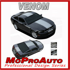 VENOM CENTER Wide Racing Stripes Decal Graphic 3M Vinyl 2013 Ford Mustang GT 302