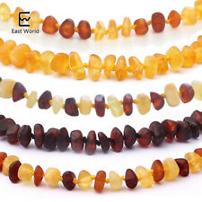 EAST WORLD 16 Colors Amber Teething Bracelet/Necklace for Baby Adult Lab Tested