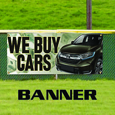 We Buy Cars Dealing Promotional Business Advertising Vinyl Banner Sign