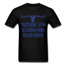 Vegetarian Is An Old Indian Word for Bad Hunter Men's T-Shirt by Spreadshirt™