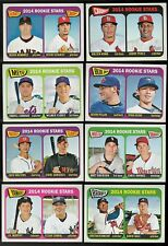 2014 Topps Heritage Rookie Stars Single Cards RC Rookie Card Logo 2 Players/Card