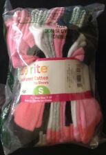 Stride Rite Girls' Cotton Socks-8 pack-Small (size 7-10)