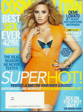 Demi Lovato Cosmopolitan Magazine Aug 2013 Max Irons Perfect Jeans