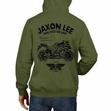 JL Ride or Die Kawasaki Z1000SX inspired Motorcycle Art Hoody