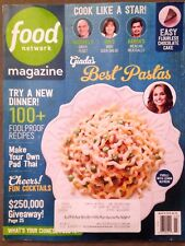 🌷Food Network Magazine🌷MARCH 2018🌷BEST PASTA'S🌷100+ Yummy Recipes🌷