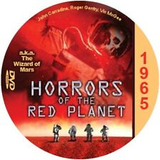 """The Wizard of Mars  Sci-Fi and Horror NR CULT """"B"""" Movie DVD"""