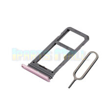 SIM Micro SD Card Tray Slot Holder For Samsung Galaxy S8 G950F Replacement Pink