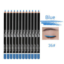 12PCS Cosmetic Glitter Eye Shadow Eyeliner Lip Liner Pencil Pen Makeup Kit