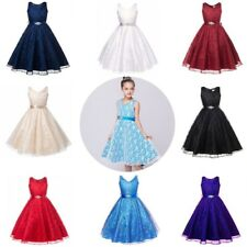 Baby Kids Girls Party Flower Formal Wedding Bridesmaid Pageant Christening Dress