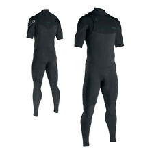 ION Wetsuit BS Onyx Core Semidry SS 3-2mm Fz DL. Short sleeve, sealed seams
