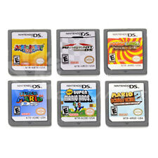 6PCS US Version MARIO Game Card For Nintendo DS NDS DSI 3DS Children Gift