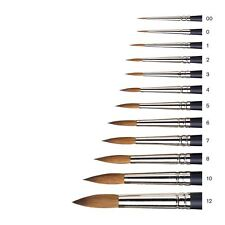 Winsor & Newton Professional Watercolour Paint Artist' Pure Sable Round Brushes