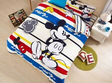 Mickey Mouse Comforters Bedding Sets Baby Boys Bed Covers Disney Sanding Cotton