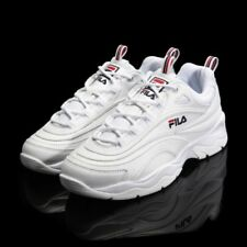 New FILA Womens RAY FS1SIA1160X WHITE UNISEX SIZE FILA RAY HERITAGE Top Shose