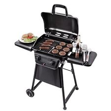 Char Broil Gas Grill Liquid Propane 2 Burner Outdoor Cooking Stainless Steel BBQ