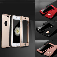 360° Luxury Ultra-thin Shockproof Armor Back Case Hard Cover for iPhone 5/6/7/8