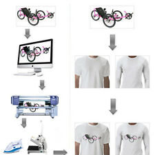 1/10/20/50/100 sheets A4 Iron Heat Transfer Paper For The Light Cotton T-shirt