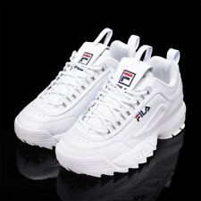 New FILA Top Shoes Womens Disruptor II 2 FS1HTZ3071X WWT  Athletic WHITE UNISEX