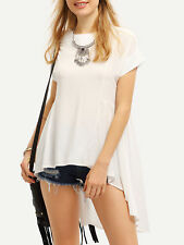 Women Casual Loose Chiffon Blouse Shirts Batwing Sleeve Blusas Solid Tops Top