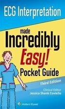ECG Interpretation Made Incredibly Easy! Pocket Guide, Paperback by Coviello,...