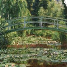 Wall Decal entitled Japanese Footbridge And the Water Lily Pool, Giverny, 1899