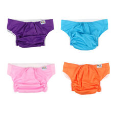 Washable Teen Adult Pocket Nappy Reusable Diaper Cover Incontinence Cloth