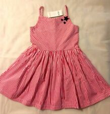 NWT  Gymboree Outlet Girls Red/White/Blue 3 Stars July4th Sun Dress   6 8 10