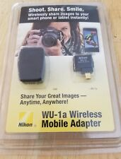 Nikon WU-1a Wireless Mobile Adapter - Great Condition