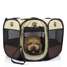 Pet Tent Portable Playpen Dog Folding Crate Doghouse Puppy Pen Soft Kennel Cage