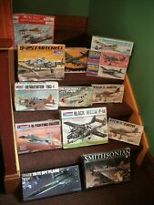 VINTAGE AIRPLANE MODEL KITS ~ CHOICE MONOGRAM, REVELL, GUILLOW'S ~  All sealed!