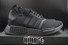 Adidas NMD R1 PK Japan Triple Black Primeknit BZ0220 NEW