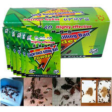 1-10x Cockroach Killing Powder Bait Roach Killer Insect Insecticide Pest Control