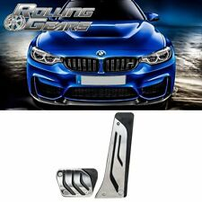Aluminum BMW M Performance Automatic Pedals Cover Sport for G30 F10 E60 5 Series (Fits: BMW)