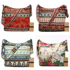 Women Cotton Handbag Shoulder Bohemian Style Hippie Hobo Crossbody Tote Bag