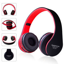 Foldable Wireless Headphones Bluetooth 4.1 Headset Noise Cancelling Over Ear