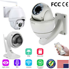 960P/1080P Wireless WiFi H.264 IP Camera CCTV Night Vision Security Cam Pan/Tilt