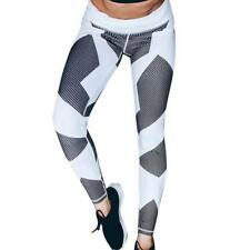 1pc New Arrived Women Yoga Fitness Leggings Running Gym Stretch Sports Pants Tro